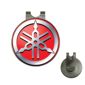 Golf Hat Clip with Ball Marker : Yamaha