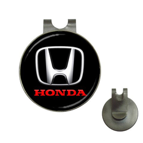 Golf Hat Clip with Ball Marker : Honda