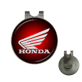 Golf Hat Clip with Ball Marker : Honda mc