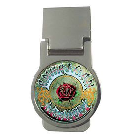 Money Clip (Round) : Grateful Dead - American Beauty