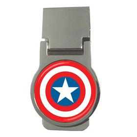 Money Clip (Round) : Captain America Shield