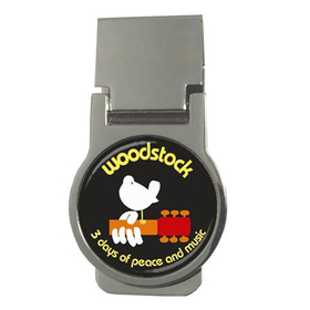 Money Clip (Round) : Woodstock - 3 Days of Peace and Music