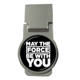 Money Clip (Round) : May The Force Be With You - Star Wars