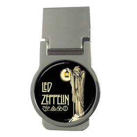 Money Clip (Round) : Led Zeppelin IV Symbols - Hermit