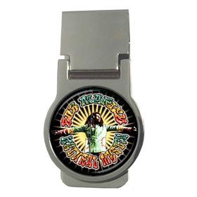 Money Clip (Round) : Bob Marley - Natural Mystic