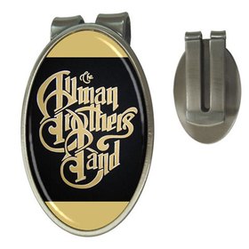 Money Clip (Oval) : Allman Brothers Band