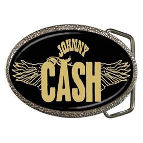 Belt Buckle : Johnny Cash - Wings