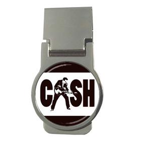 Money Clip (Round) : Johnny Cash