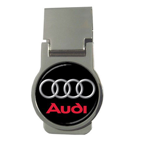 Money Clip (Round) : Audi