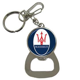 Bottle Opener Keychain : Maserati
