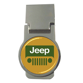 Money Clip (Round) : Jeep