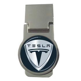 Money Clip (Round) : Tesla