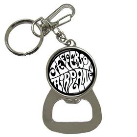 Bottle Opener Keychain : Jefferson Airplane