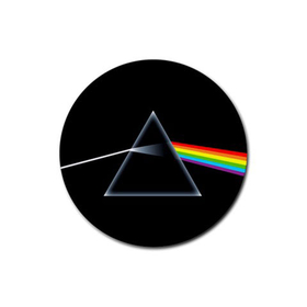 Coasters (4 Pack - Round) : Pink Floyd - Dark Side of the Moon