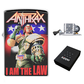 Lighter : Anthrax - I Am the Law