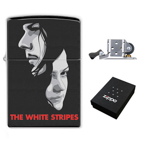 Lighter : White Stripes