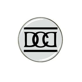 Golf Ball Marker : Dead Can Dance (grey-black)