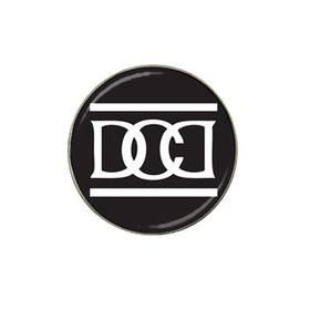 Golf Ball Marker : Dead Can Dance (black-white)