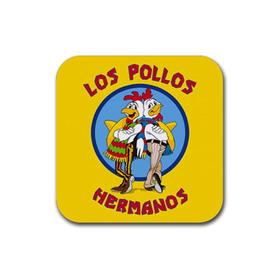 Coasters (4 pack - Square) : Breaking Bad - Los Pollos Hermanos