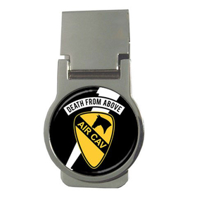 Money Clip (Round) : Air Cavalry - Death From Above