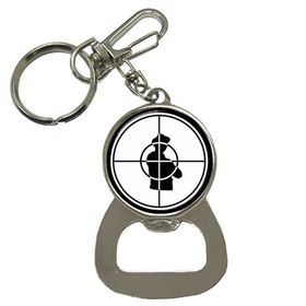 Bottle Opener Keychain : Public Enemy