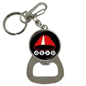 Bottle Opener Keychain : Devo