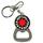 Bottle Opener Keychain : Red Hot Chili Peppers